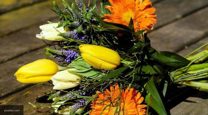 В России снизился спрос на цветы перед 1 сентября
