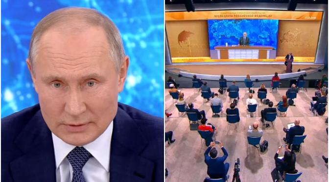 Главные заявления президента РФ Владимира Путина на пресс-конференции – 2020