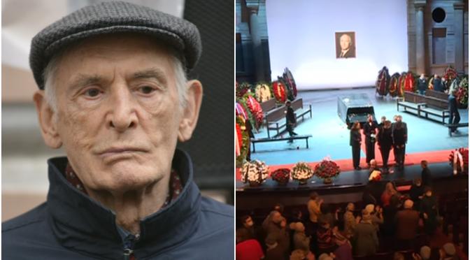 Папарацци возмутили поклонников изобличением «виновников смерти» у гроба Ланового