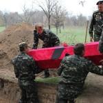 """Останки солдат перезахоронили с почестями. Фото: предоставлено военно-историческим поисковым товариществом """"Вотан"""""""
