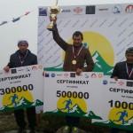 Андрей Сафронов, г. Уфа, победитель горного марафона «Ольчан-2014»