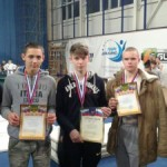 Рукопашники из Чеховского района привезли девять медалей